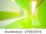 abstract architectural interior ... | Shutterstock . vector #670331476