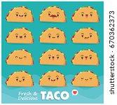vintage food poster design with ... | Shutterstock .eps vector #670362373