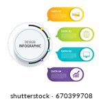 4 infographic design vector and ... | Shutterstock .eps vector #670399708