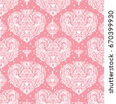 vector seamless vintage pattern ...   Shutterstock .eps vector #670399930
