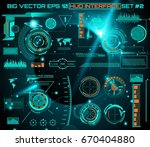 abstract future  concept vector ... | Shutterstock .eps vector #670404880