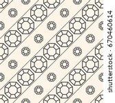 seamless pattern with gemstones ... | Shutterstock .eps vector #670460614