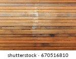 wooden wall  outdoor... | Shutterstock . vector #670516810