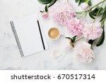 morning coffee mug for... | Shutterstock . vector #670517314