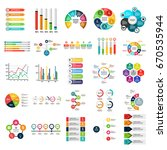 info graphic flat icon set | Shutterstock .eps vector #670535944