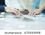 internet  business and... | Shutterstock . vector #670543498