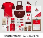 business fastfood corporate... | Shutterstock .eps vector #670560178