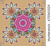the elegant the template for... | Shutterstock .eps vector #670561024