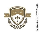 university education logo design | Shutterstock .eps vector #670576648