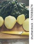 potatoes and mangold | Shutterstock . vector #670583674