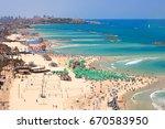 Mediterranean Seaside Of Tel...