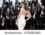 cannes  france   may 22  izabel ... | Shutterstock . vector #670585360