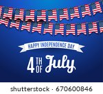 july fourth. 4th of july...   Shutterstock .eps vector #670600846
