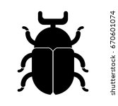 beetle icon | Shutterstock .eps vector #670601074