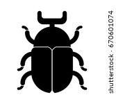 beetle icon | Shutterstock .eps vector #670601074