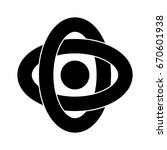atom icon | Shutterstock .eps vector #670601938