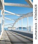 bridge in alesund  norway | Shutterstock . vector #670606828