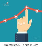 flat design vector illustration ... | Shutterstock .eps vector #670611889
