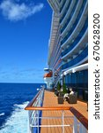 royal princess  caribbean sea   ... | Shutterstock . vector #670628200