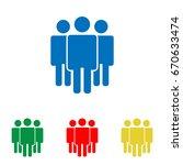 friendship  teamwork. society... | Shutterstock .eps vector #670633474