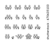 family and relationship vector... | Shutterstock .eps vector #670635103