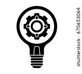 idea icon | Shutterstock .eps vector #670653064