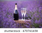 delicious champagne over... | Shutterstock . vector #670761658