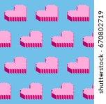 seamless background of...   Shutterstock .eps vector #670802719