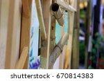 chiangmai thailand  july 01... | Shutterstock . vector #670814383