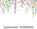 colorful serpentine and... | Shutterstock . vector #670830523