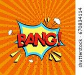 comic speech bubbles with text... | Shutterstock .eps vector #670834114