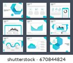 creative presentation templates ... | Shutterstock .eps vector #670844824