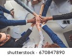 success and winning concept  ... | Shutterstock . vector #670847890