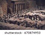 xi'an  china   may 27  2017 ... | Shutterstock . vector #670874953