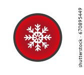 snowflake icon | Shutterstock .eps vector #670895449