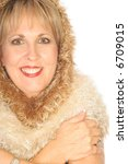 winter wonderland headshot... | Shutterstock . vector #6709015