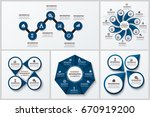 business project infographics... | Shutterstock .eps vector #670919200