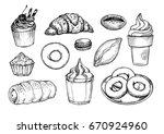 hand drawn vector illustration  ...   Shutterstock .eps vector #670924960