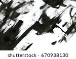 Abstract Ink Background. Marbl...
