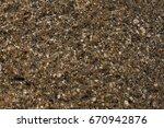 texture of wet stone | Shutterstock . vector #670942876