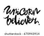 unique hand drawn lettering... | Shutterstock .eps vector #670943914