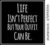 funny  inspirational vector... | Shutterstock .eps vector #670955554