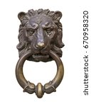 old style decorative lion's... | Shutterstock . vector #670958320