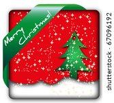 christmas card icon | Shutterstock .eps vector #67096192