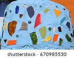 abstract tiles   Shutterstock . vector #670985530
