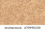 a tan colored swirly... | Shutterstock . vector #670990150