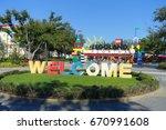 houston  usa   january 12  2017 ...   Shutterstock . vector #670991608
