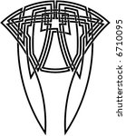 celtic knot  67 | Shutterstock .eps vector #6710095