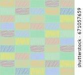 seamless geometrical pattern... | Shutterstock . vector #671057659