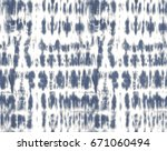japanese shibori technique tie... | Shutterstock .eps vector #671060494